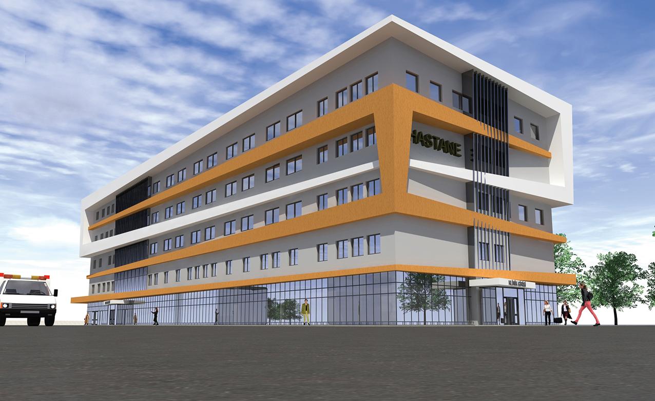 özel Döşemealtı 75 Yataklı Termessos Hastanesi Projelerimiz
